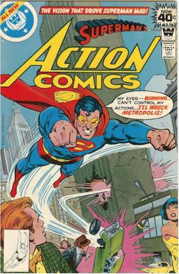 Action Comics #490. Click for current values.