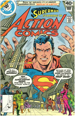 Action Comics #496. Click for current values.