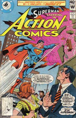 Action Comics #498. Click for current values.