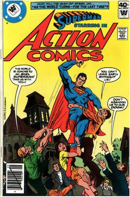 Action Comics #499. Click for current values.