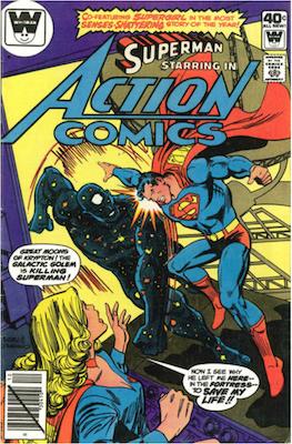 Action Comics #502. Click for current values.