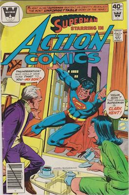 Action Comics #508. Click for current values.
