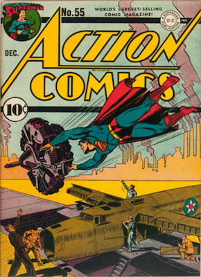 Action Comics #55. Click for value