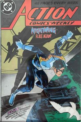 Action Comics #613. Click for values.