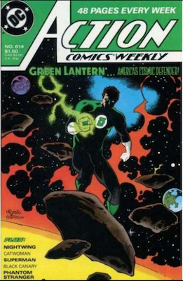 Action Comics #614. Click for values.