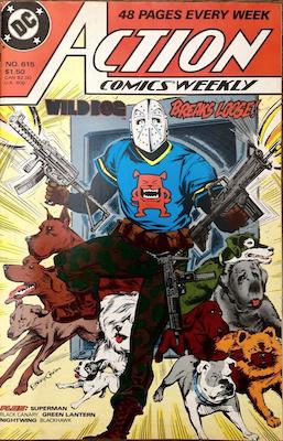 Action Comics #615. Click for values.