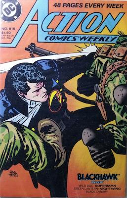 Action Comics #616. Click for values.