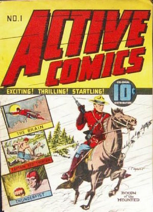 Canadian Whites: Bell Features Active Comics #1