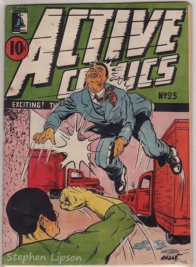 Active Comics #25