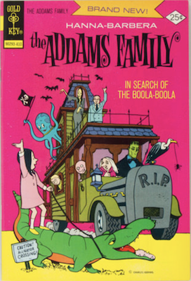 Addams Family #1, Gold Key. Click for values