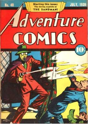 Adventure Comics #40. Click for values.