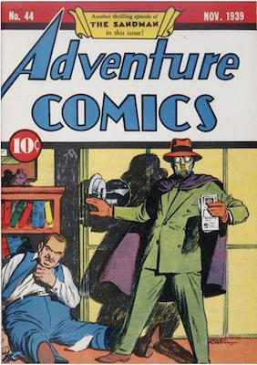 Adventure Comics #44. Click for values.