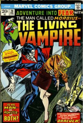 Morbius the Living Vampire: Adventure into Fear #20. Click to buy a copy