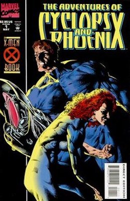 Adventures of Cyclops and Phoenix (Marvel, 1994): Cable / Baby Nathan Summers Origin. Click for values
