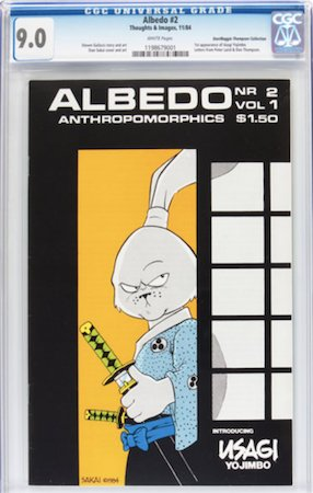 Albedo 2 is expensive. CGC 9.0 is going to be a big four figure purchase. Click to buy a copy