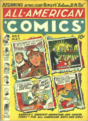 All-American Comics #2. Click for current values.