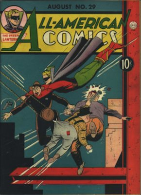All-American Comics #29. Click for current values.