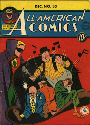 All-American Comics #33. Click for current values.