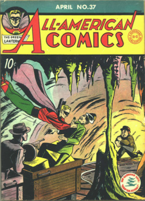 All-American Comics #37. Click for current values.