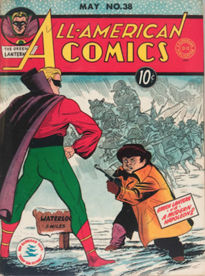 All-American Comics #38. Click for current values.