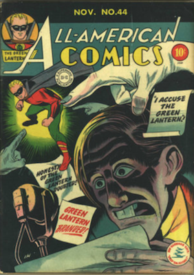 All-American Comics #44. Click for current values.