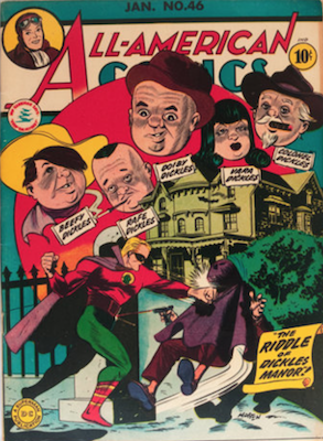 All-American Comics #46. Click for current values.