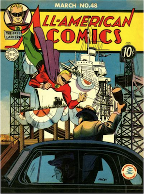 All-American Comics #48. Click for current values.
