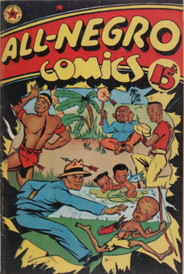 All-Negro Comics #1: Very rare comic book, only issue