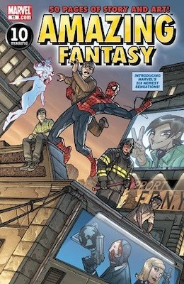 Amazing Fantasy v2 #15, 1st Amadeus Cho. Click for values