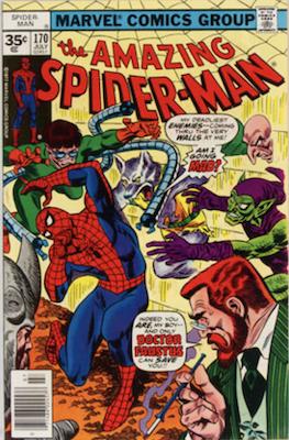 Amazing Spider-Man #170: Rare 35 Cent Price Variant. Click for values