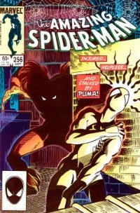 Amazing Spider-Man #256 (1984): First Appearance, Puma. Click for value