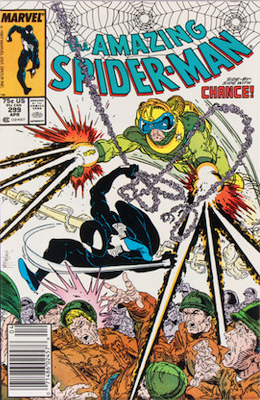 Most valuable comic books of the 1980s: Amazing Spider-Man #299 (1988): Newsstand variant. Click for values