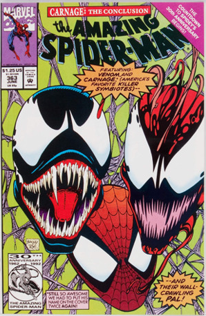 Amazing Spider-Man #363: 3rd Carnage Marvel comic. Click for values