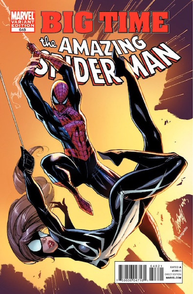 #42: Amazing Spider-man 648 (Color) Campbell Variant (2011). Click for values