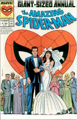 The Wedding special. Could Amazing Spider-Man annual 21 be a hot thing in future?