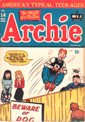 Archie Comics #14. Click for current values.
