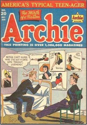 Archie Comics #20. Click for current values.