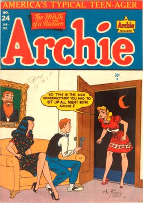 Archie Comics #24. Click for current values.