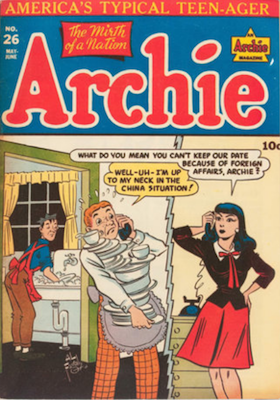 Archie Comics #26. Click for current values.