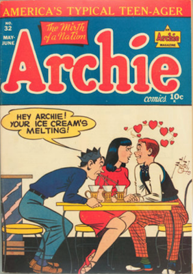 Archie Comics #32. Click for current values.