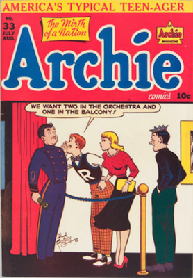Archie Comics #33. Click for current values.