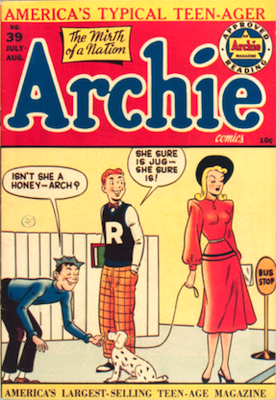 Archie Comics #39. Click for current values.