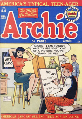 Archie Comics #44. Click for current values.