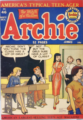 Archie Comics #46. Click for current values.