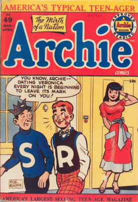 Archie Comics #49. Click for current values.