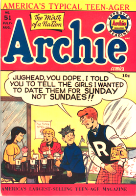 Archie Comics #51. Click for current values.