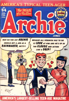 Archie Comics #54. Click for current values.