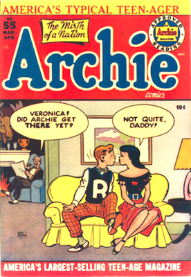 Archie Comics #55. Click for current values.