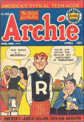 Archie Comics #66. Click for current values.