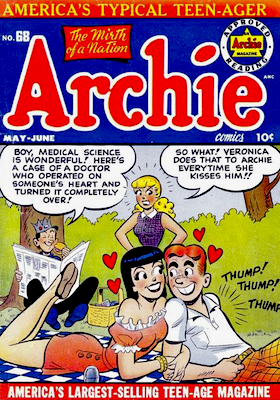 Archie Comics #68. Click for current values.